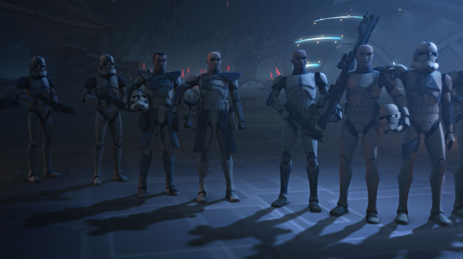 Clone troopers. 4 season Clone Wars