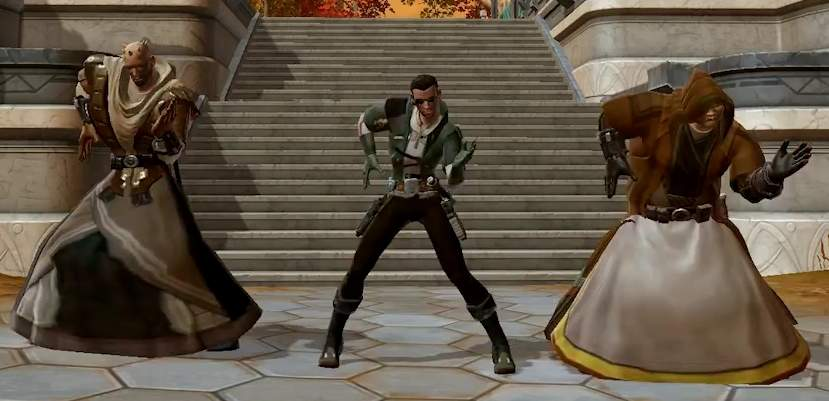 dance in the MMO The Old Republic