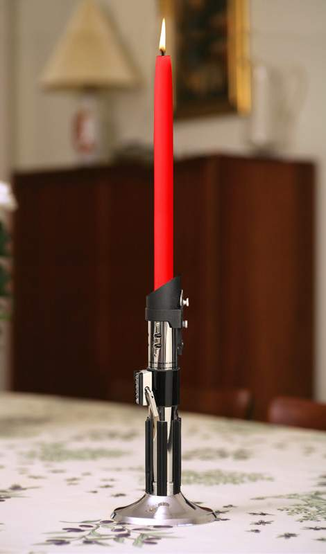 Star Wars candlestick