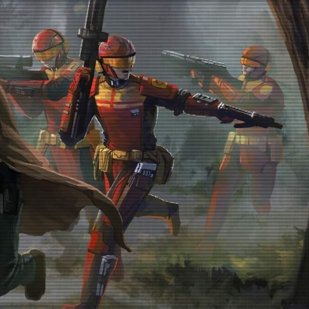 KOTOR troopers and commandos