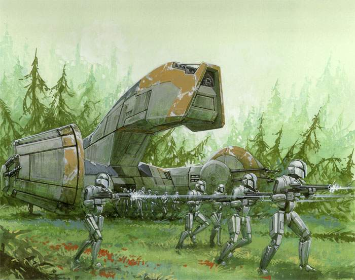 KT-400 military droid carrier