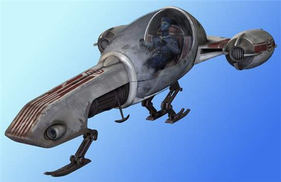 CK-6 Freeco speeder bike