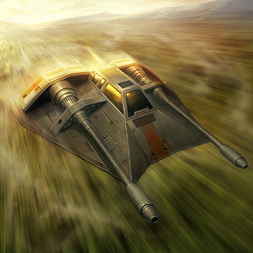 Rebel Combat Speeder T-47
