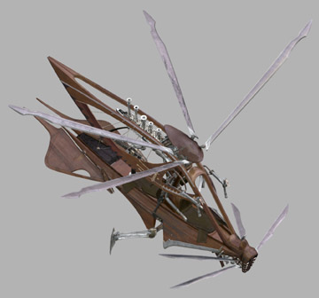 Wookiee ornithopter