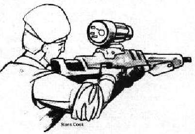 Targeter Ranging Scope