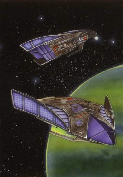 Manta-class assault starfighter